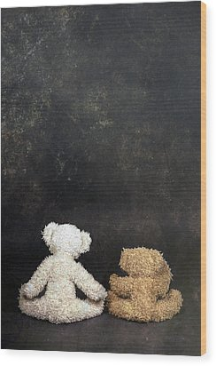 Teddy Bears Wood Print by Joana Kruse