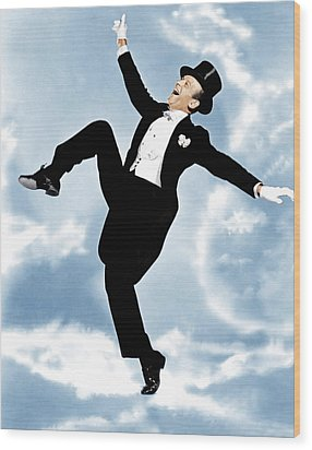 The Belle Of New York, Fred Astaire Wood Print by Everett
