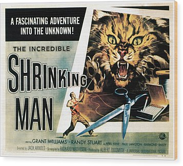 The Incredible Shrinking Man, 1957 Wood Print by Everett