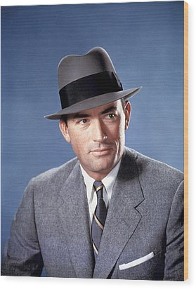 The Man In The Gray Flannel Suit Wood Print by Everett