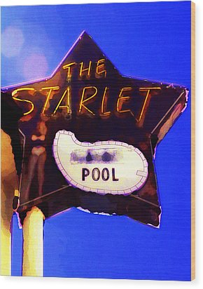 The Starlet Wood Print by Ron Regalado