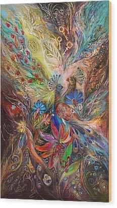 The Three Keys Wood Print by Elena Kotliarker
