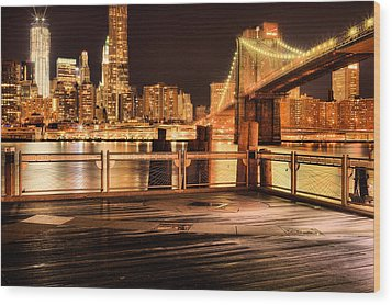 The View Wood Print by JC Findley