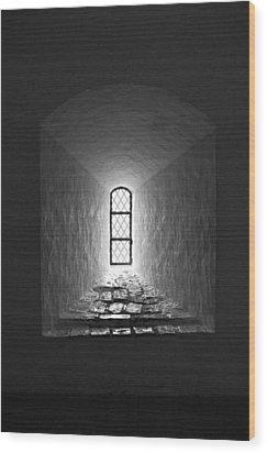 The Window Of The Castle Of Tavastehus Wood Print by Jouko Lehto