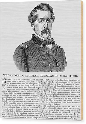 Thomas Francis Meagher Wood Print by Granger