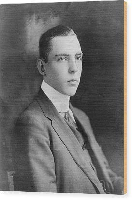 Vincent Astor 1891-1959, Late Husband Wood Print by Everett