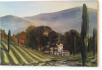 Vintage Year Wood Print by Don F  Bradford