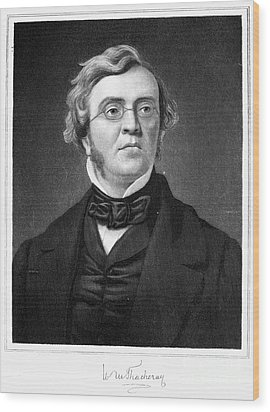 William M. Thackeray Wood Print by Granger