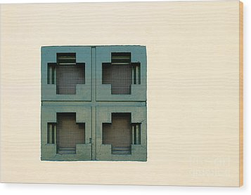 Windows Wood Print by Henrik Lehnerer