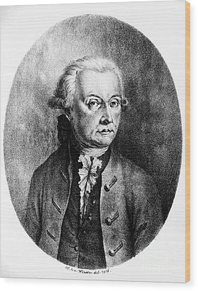 Wolfgang Amadeus Mozart, Austrian Wood Print by Photo Researchers, Inc.