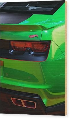 2012 Hot Wheels Chevrolet Camaro Concept Wood Print by Gordon Dean II