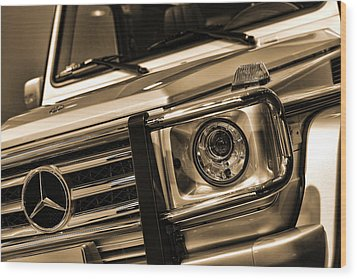 2012 Mercedes Benz G-class Wood Print by Gordon Dean II