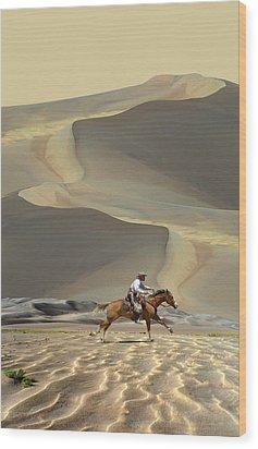 2070 Wood Print by Peter Holme III