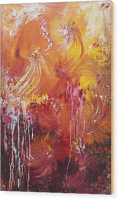 207916 Wood Print by Svetlana Sewell
