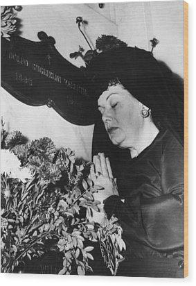 Rudolph Valentino Wood Print by Granger