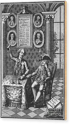 Louis Xvi (1754-1793) Wood Print by Granger