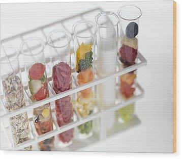 Balanced Diet Wood Print by Tek Image