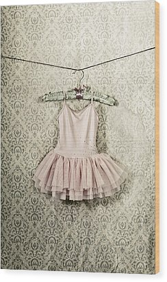 Ballet Dress Wood Print by Joana Kruse