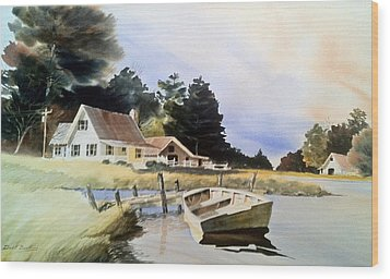 Doc Jacksons Place Wood Print by Don F  Bradford