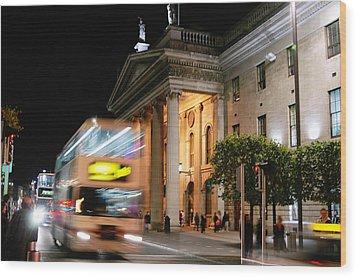 Dublin General Post Office Wood Print by Josh Whalen
