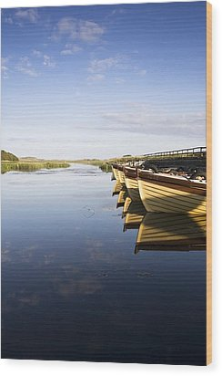 Dunfanaghy, County Donegal, Ireland Wood Print by Peter McCabe