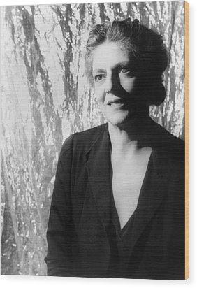 Ethel Barrymore (1879-1959) Wood Print by Granger