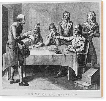 French Revolution, 1793 Wood Print by Granger