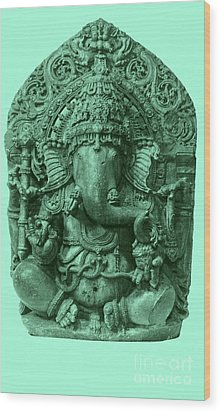 Ganesha, Hindu God Wood Print by Photo Researchers