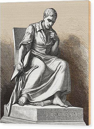 Giovanni Cassini, Italian Astronomer Wood Print by Sheila Terry