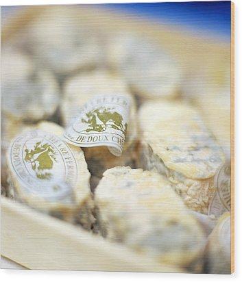 Goat's Cheese Wood Print by David Munns