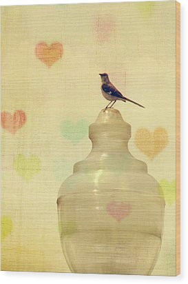 Heartsong Wood Print by Amy Tyler