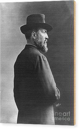 James A. Garfield, 20th American Wood Print by Photo Researchers