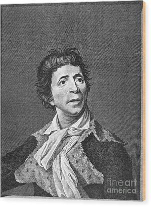Jean-paul Marat (1743-1793) Wood Print by Granger