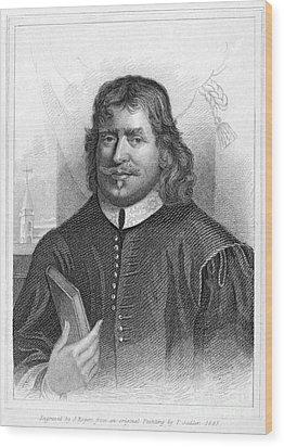John Bunyan (1628-1688) Wood Print by Granger