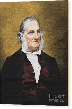 John James Audubon, French-american Wood Print by Science Source