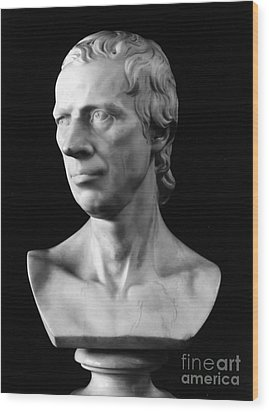 Laurence Sterne (1713-1768) Wood Print by Granger