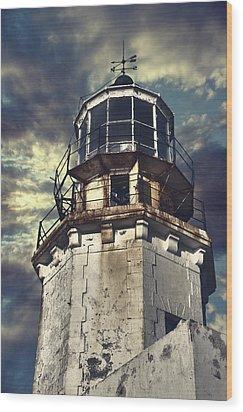 Lighthouse Wood Print by Joana Kruse