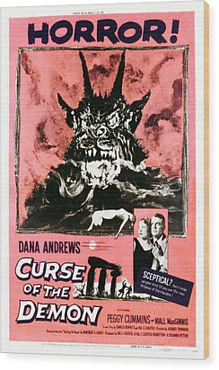 Night Of The Demon, Aka Curse Of The Wood Print by Everett