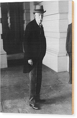 Oliver Wendell Holmes, Jr. 1841-1935 Wood Print by Everett