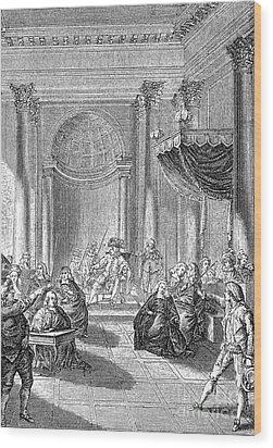 Pierre De Beaumarchais Wood Print by Granger