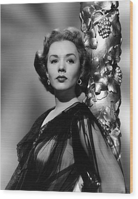 Piper Laurie, 1952 Wood Print by Everett