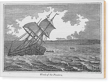 Pitcairn Island Wood Print by Granger