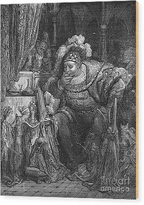Rabelais: Pantagruel Wood Print by Granger