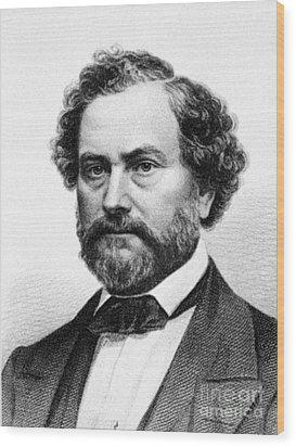 Samuel Colt (1814-1862) Wood Print by Granger