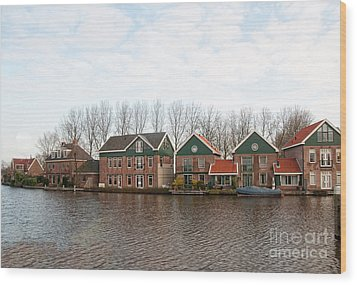 Wood Print featuring the digital art Scenes From Amsterdam by Carol Ailles