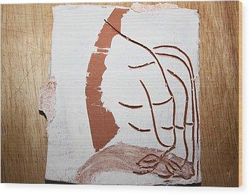 Senses - Tile Wood Print by Gloria Ssali