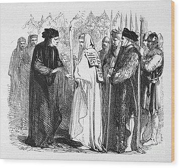Shakespeare: Henry Vi Wood Print by Granger