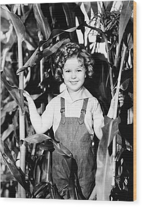 Shirley Temple (1928- ) Wood Print by Granger