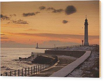 Sunderland, Tyne And Wear, England A Wood Print by John Short