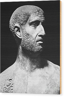 Terence (186?-159 B.c.) Wood Print by Granger
